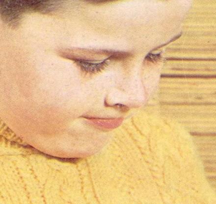 Childs DK Polo Neck full pattern