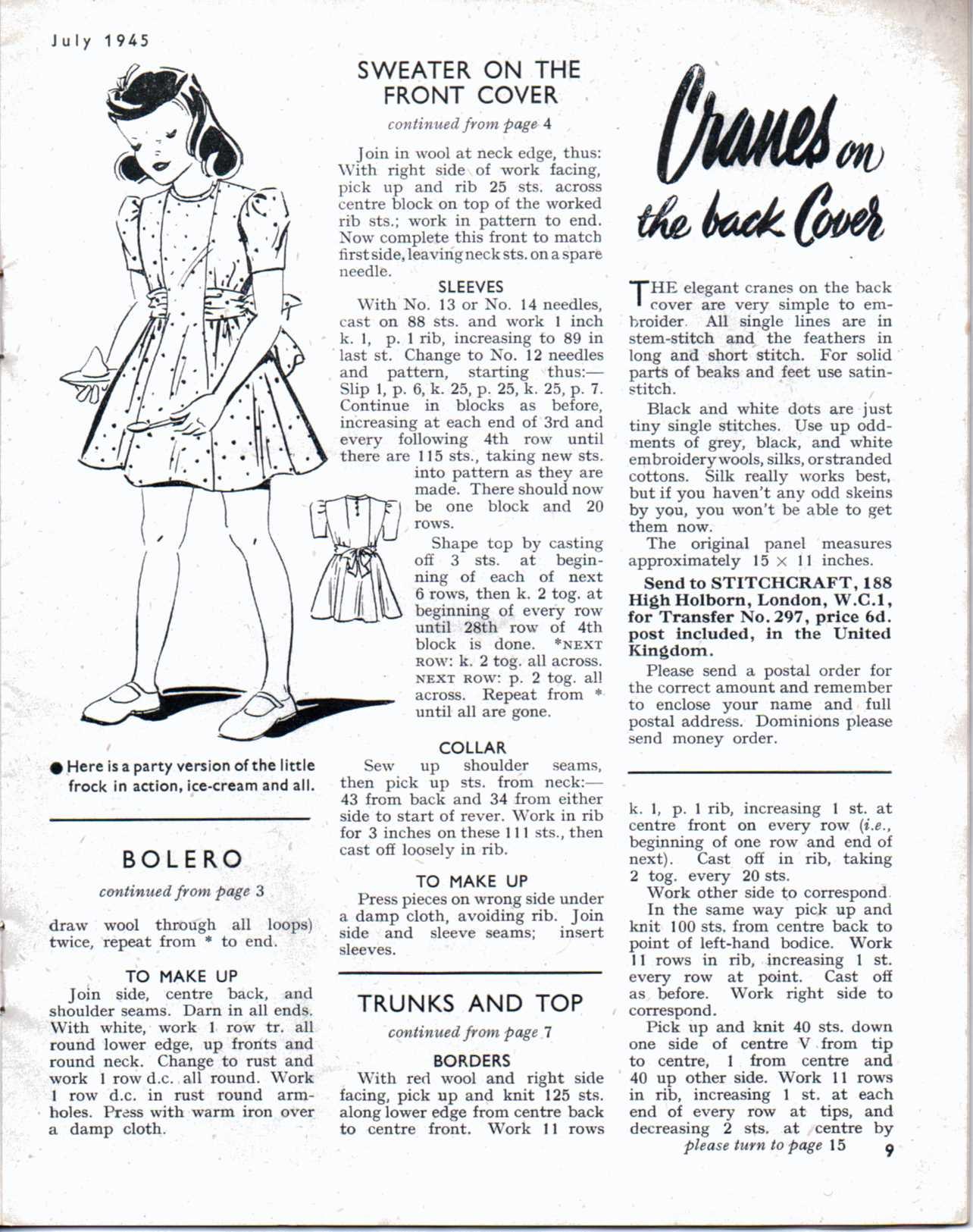 Stitch July 1945 P7