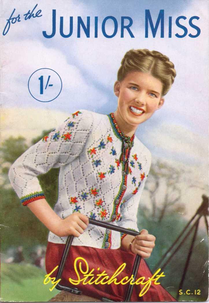 Stitchcraft magazine scan 40's