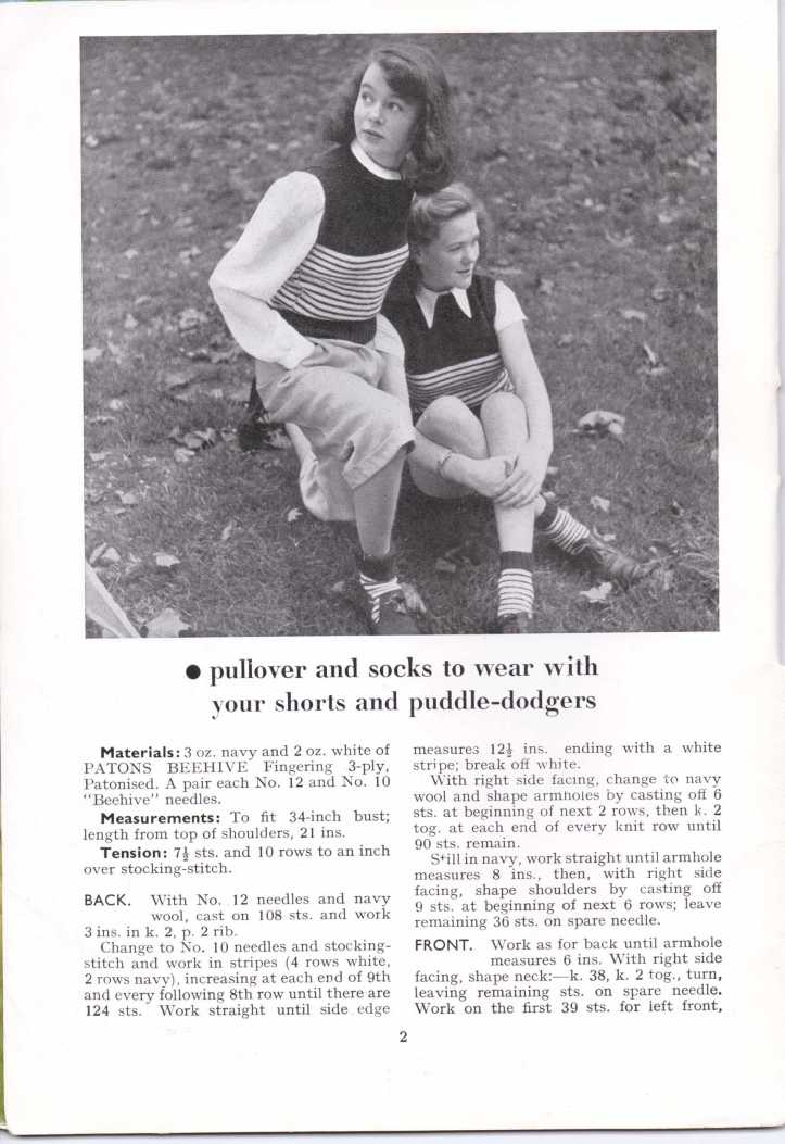 ForTheJuniorMiss Stitchcraft 1940s magazine scan 40's p2