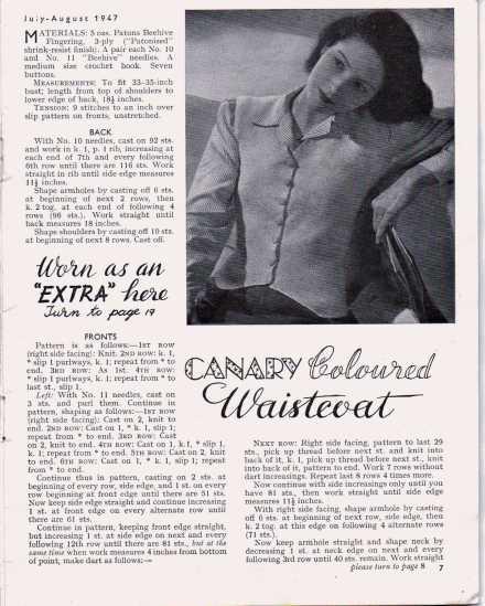 Stitchcraft August 19476