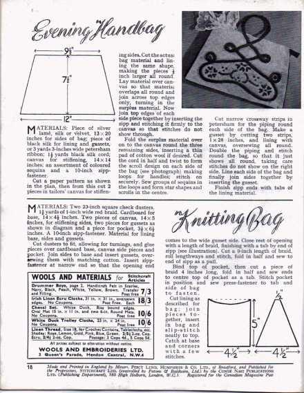 Stitchcraft  Dect 1947 17