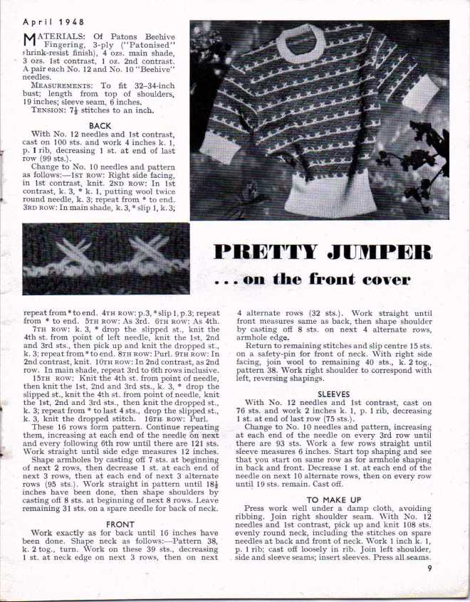 Stitchcraft April 1947 8