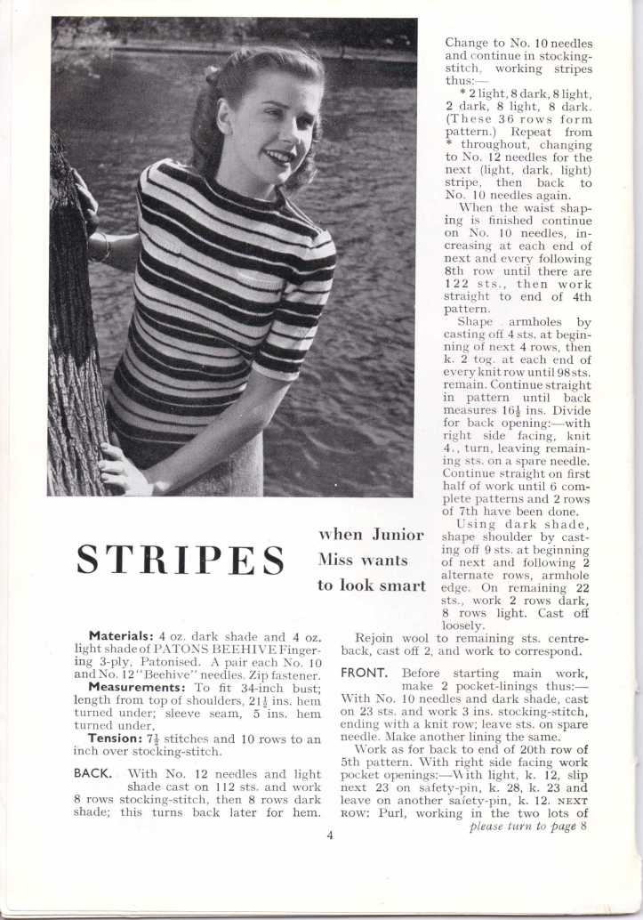 ForTheJuniorMiss Stitchcraft 1940s magazine scan 40's p4