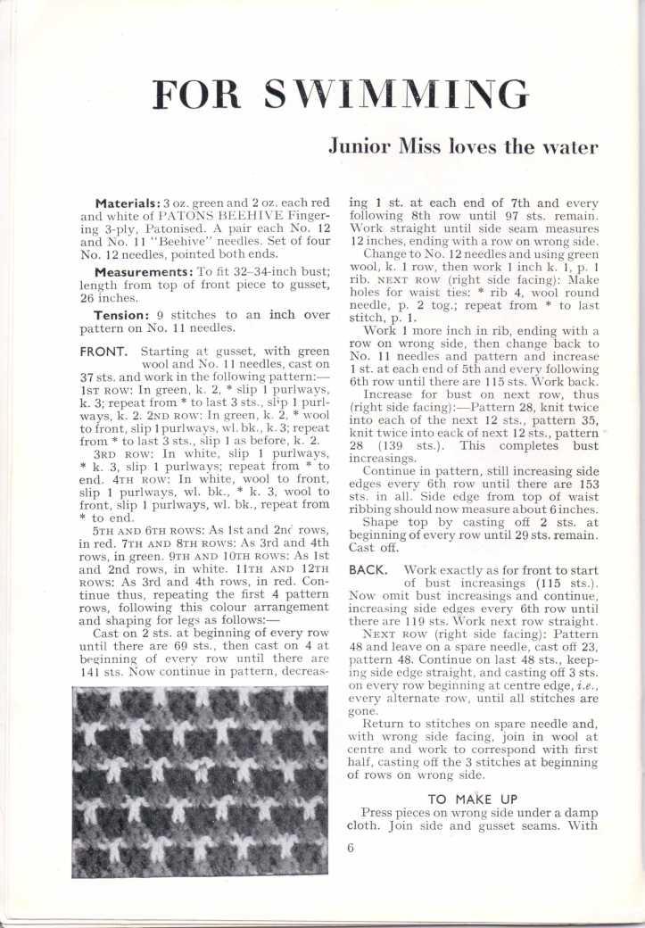 ForTheJuniorMiss Stitchcraft 1940s magazine scan 40's p6