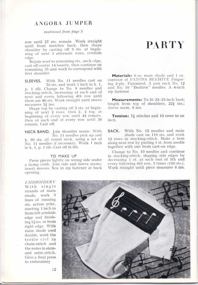 ForTheJuniorMiss Stitchcraft 1940s magazine scan 40's p 12