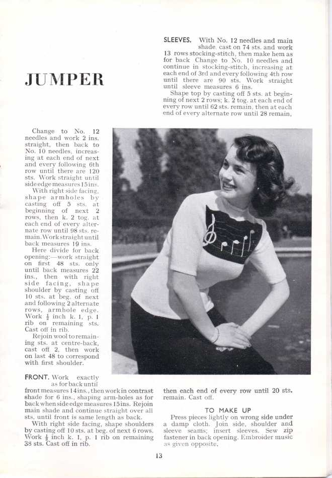 ForTheJuniorMiss Stitchcraft 1940s magazine scan 40's p 13
