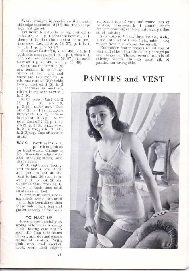 ForTheJuniorMiss Stitchcraft 1940s magazine scan 40's p 21