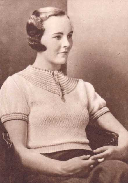 Free vintage pattern from The Needlewoman 1930s