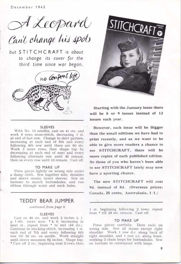 Stitchcraft Dec 194311