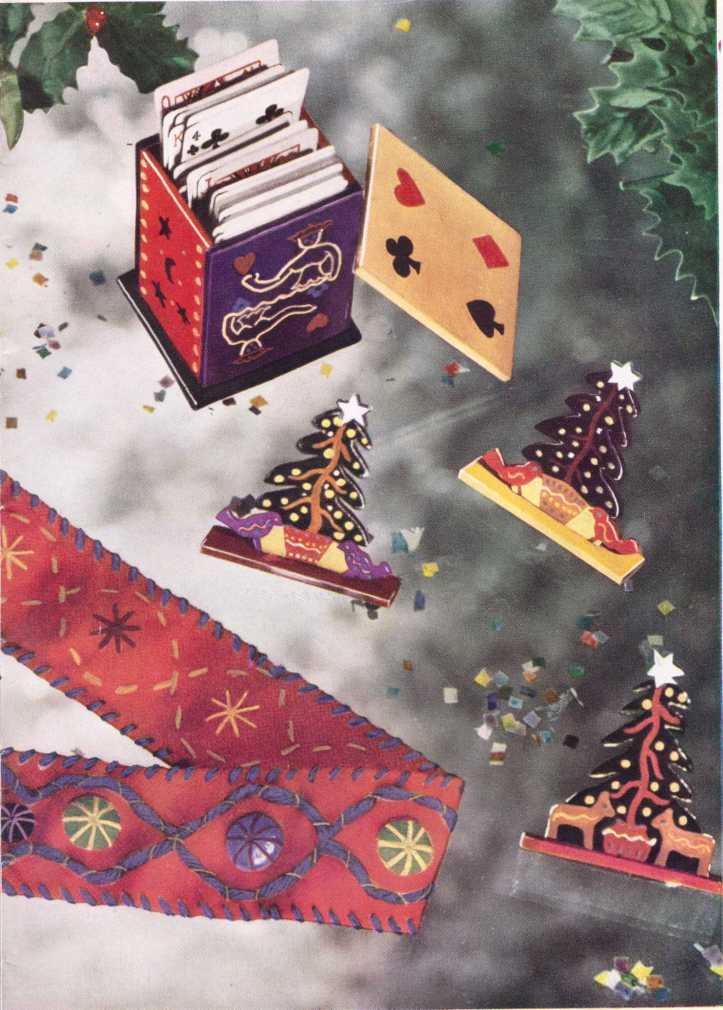 Stitchcraft Dec 1943 War time Christmas gifts