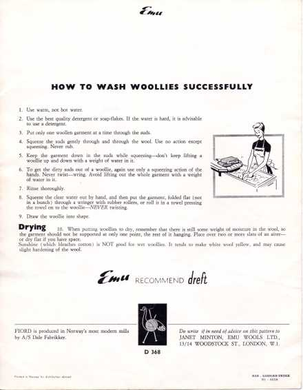 How to wash woolens