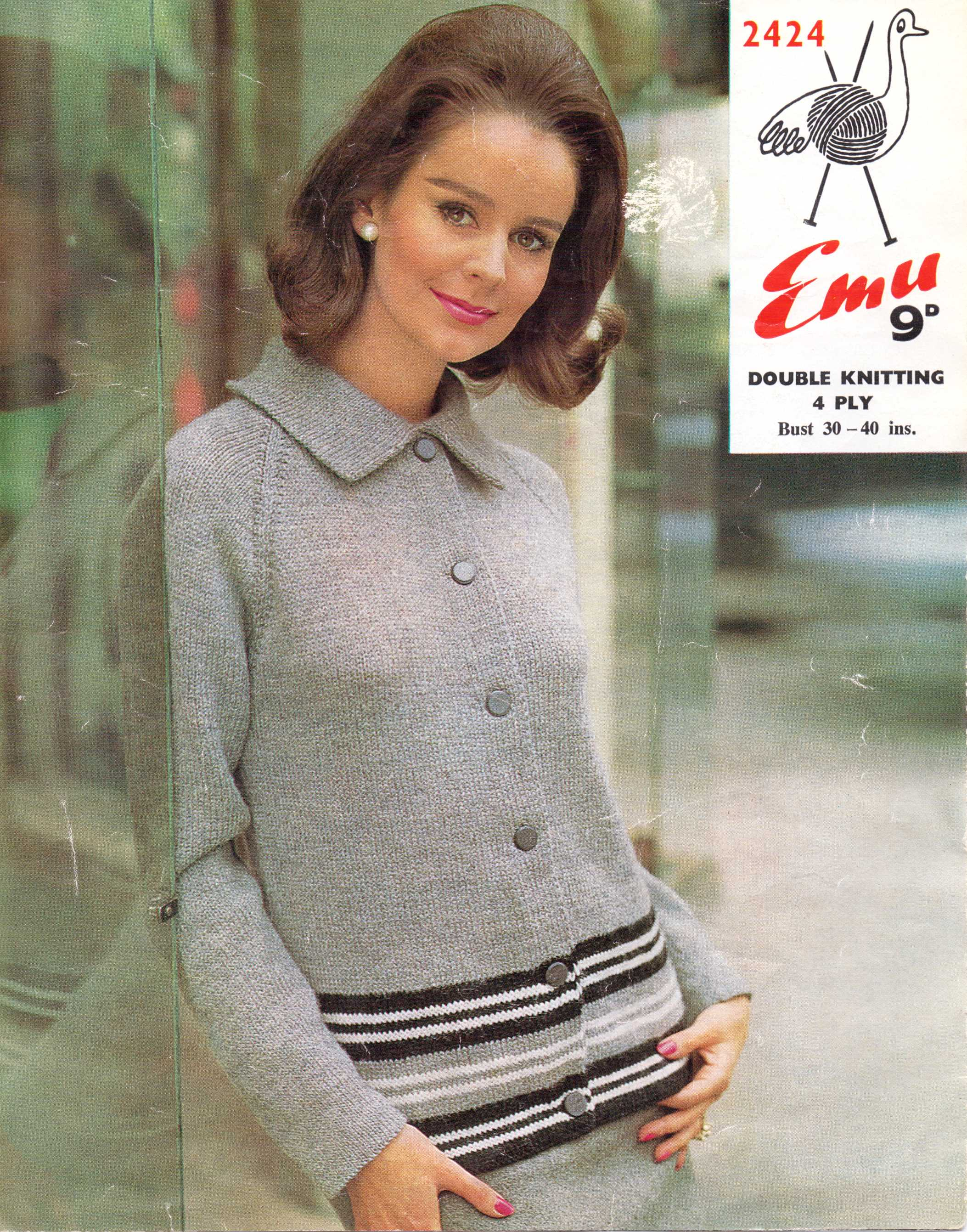 Free Knitting Pattern 60 S Mod Cool Or Mum Cardigan I Can T