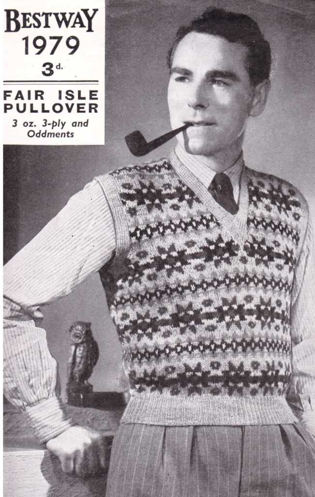 Bestway 1979 free knitting pattern men's