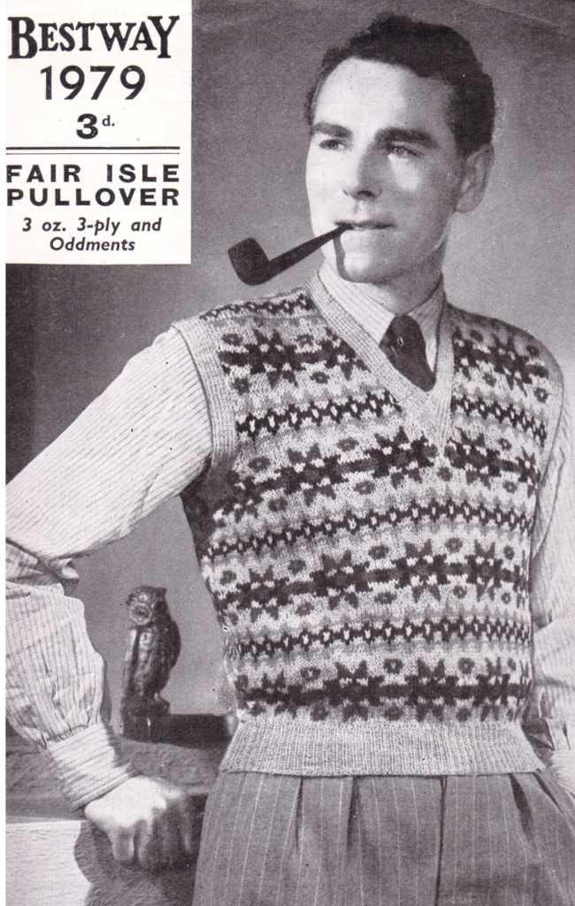 Bestway 1979 free knitting pattern men's