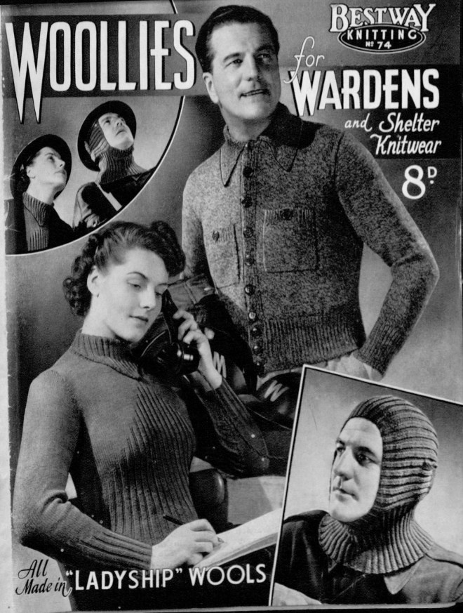 Forties Knitting Pattern Ladies