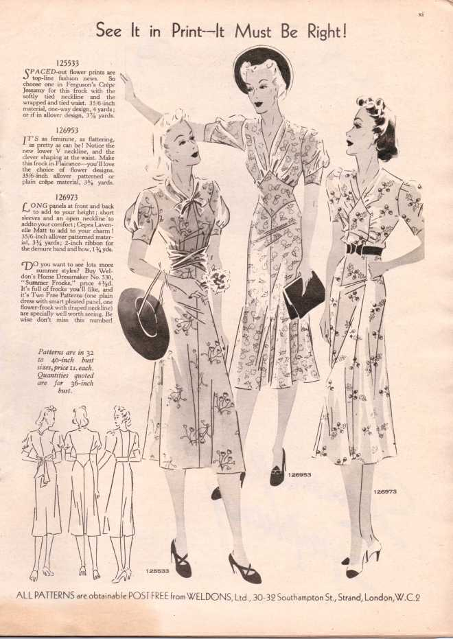 Weldon's Ladies Journal 1938 free knitting pattern12