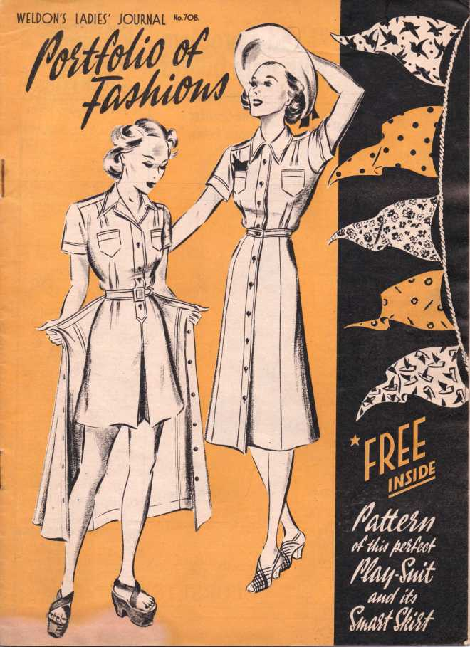 Weldon's Ladies Journal 1938 free knitting pattern2