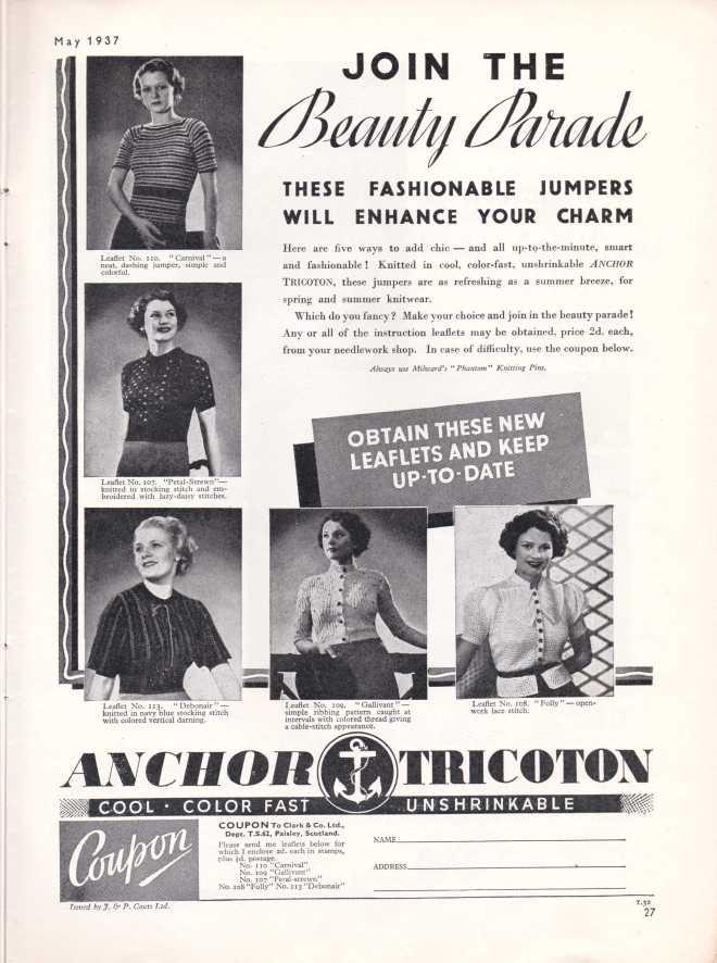 Stitchcraft May 193728