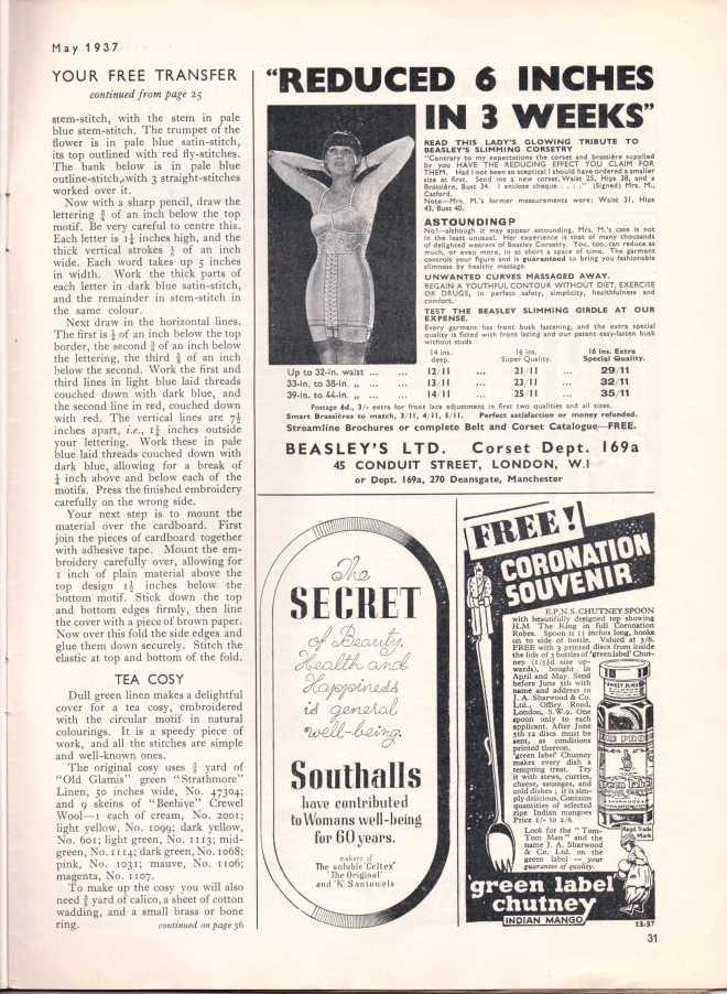 Stitchcraft May 193732