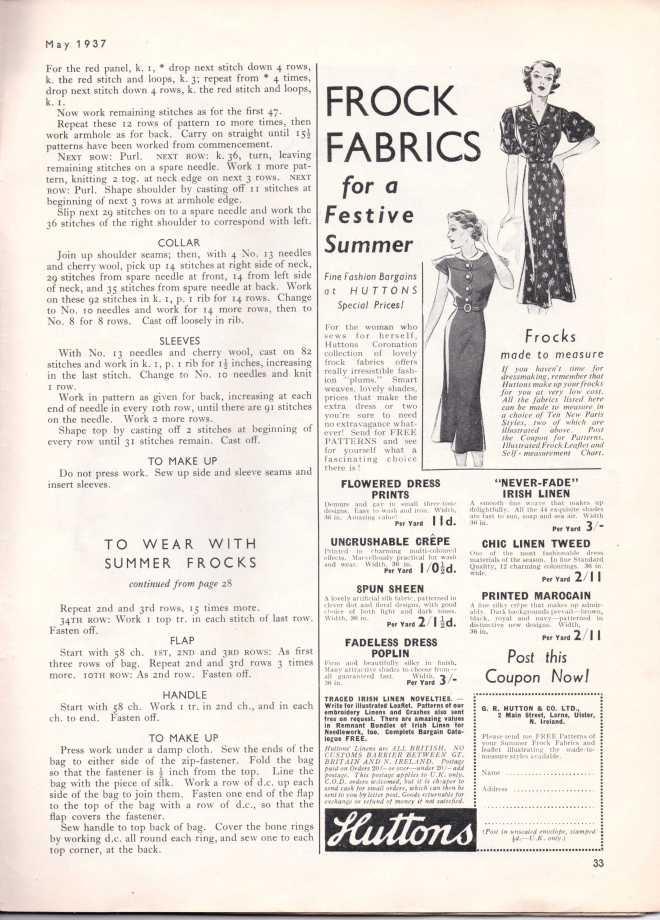Stitchcraft May 193734