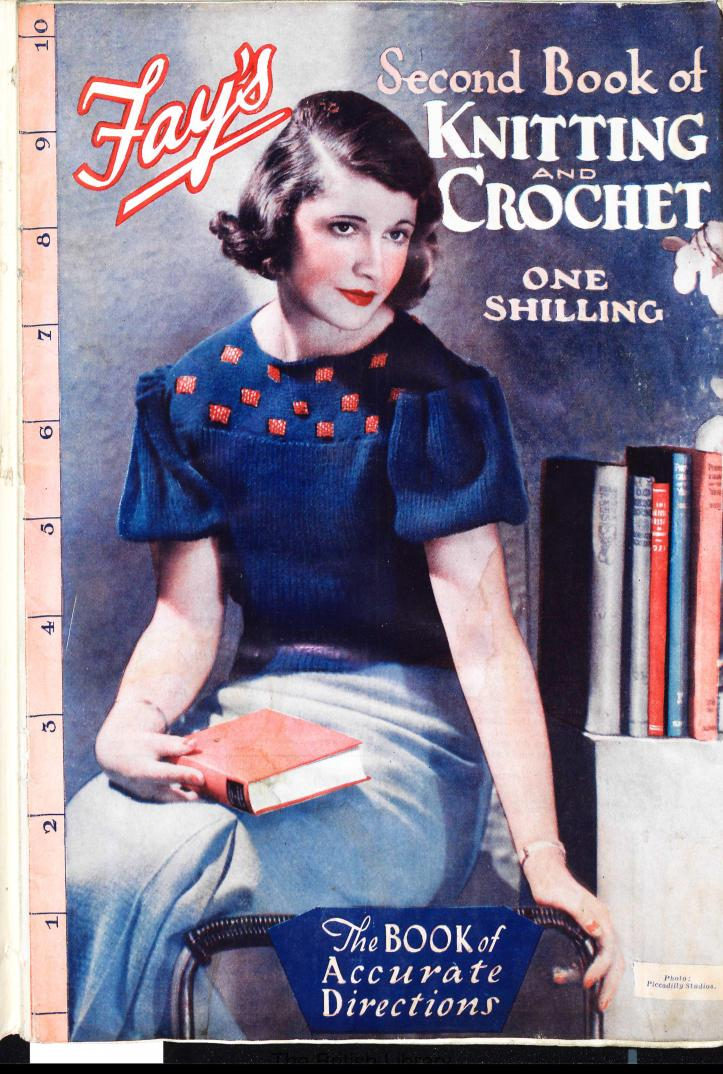 Fay's Second book of knitting