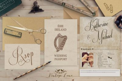 Personalised Wedding Pport Style Rustic Destination