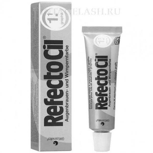 Краска для бровей и ресниц RefectoCil (графит) №1.1