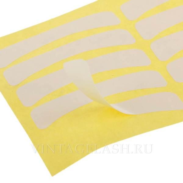 Одноразовые наклейки для изоляции нижних ресниц 1 лист (10 пар) 2
