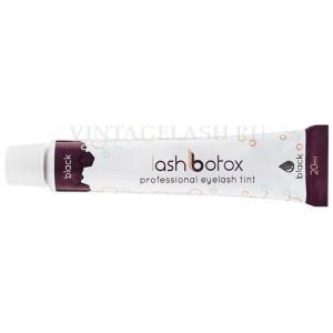 Краска-бальзам для ресниц Lash Botox (№1 черная)
