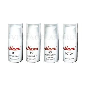 Набор составов для ламинирования и ботокса ellami (#1 + #2 + #3 + botox), 7 мл
