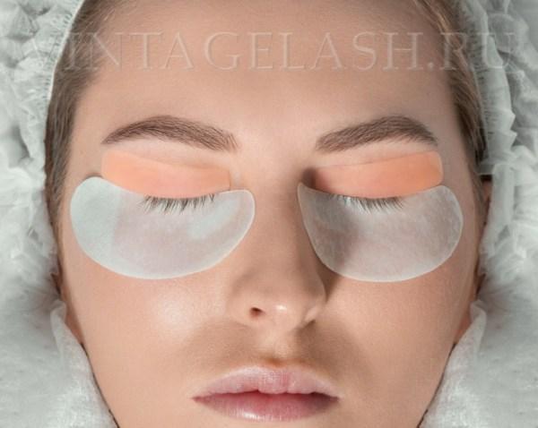 Набор силиконовых форм Lash Botox (6 пар), размеры S, M, M1, M2, L, L1 на глазах