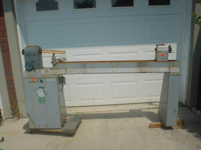 Comments: Boice Crane Model 3700-60, Variable Speed 6Ft Bed Wood Lathe