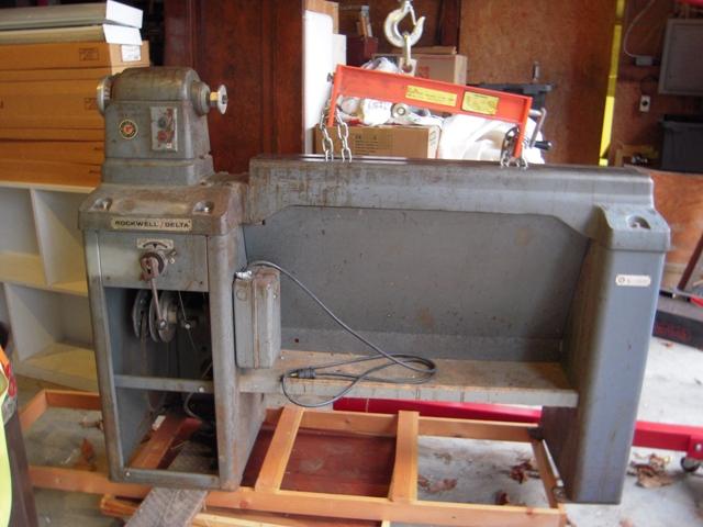 Comments: 46-450 lathe before restoration