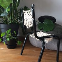 Chaise & macramé