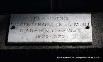 Adrien D'Epinay Port Louis Company Garden
