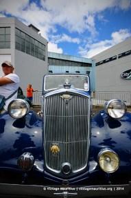 Blue Wolseley 1948 Classic Vintage Car Mauritius