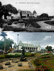 Curepipe Municipal Garden - Town Hall - 1924/2013