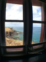 Window over the back of the lighthouse