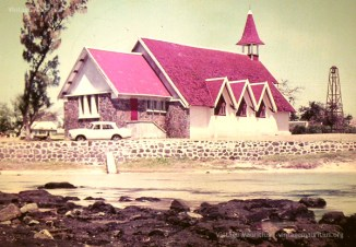 Fishermens Church - Notre Dame Auxiliatrice - Cap Malheureux - Mauritius - 1975