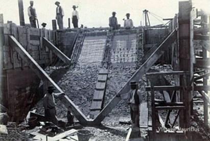 Foundation stage of the cavendish bridge 2