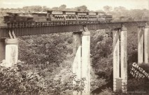The GRNW Railway Viaduct in the 1930s