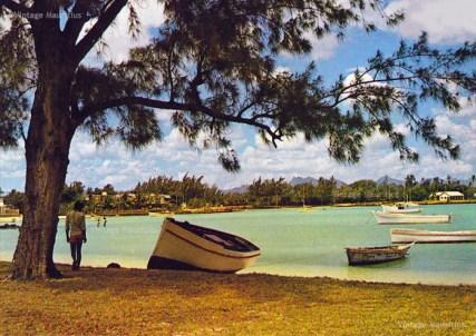 Grand Bay Beach Mauritius 1970s
