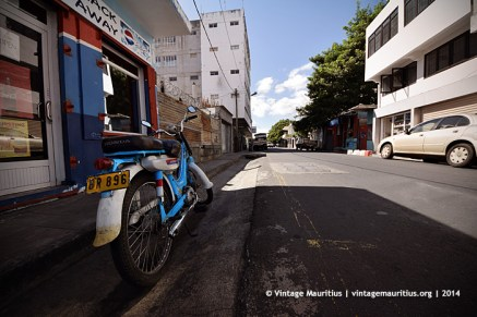 Honda PC50 Royal Street Port Louis Mauritius