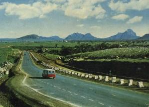 M1 Motorway Reduit Ebene Bedford Van Banane 1965