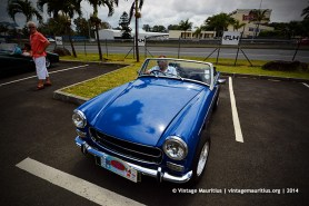 MG B Classic Vintage Car Mauritius
