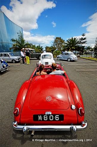 MGA Classic Vintage Car Mauritius