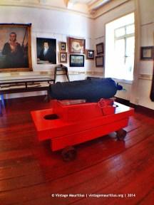 Mahebourg Naval Museum - Chateau Robillard - First Floor - Ship Canon