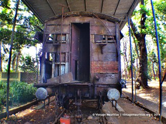 Mahebourg Naval Museum - Chateau Robillard - Old Train Wagon