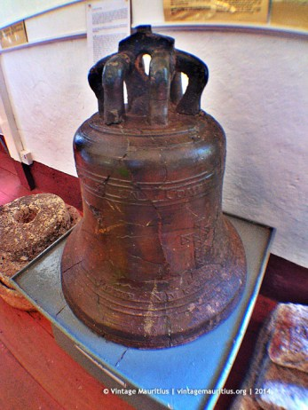 Mahebourg Naval Museum - Chateau Robillard - First Floor - St Geran Ship Bell